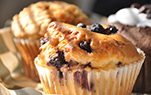 Blueberry -Aronia Muffins