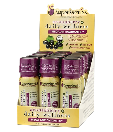 Aroniaberry+ Daily Wellness Shot (box 12 / 2 oz.)