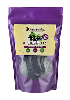 Aronia Berry Gummy Chews - 16 oz. bag