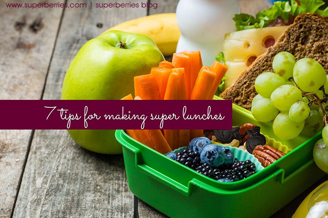 Superberries Blog 7 tips for making super lunches