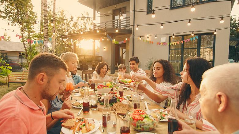 Family Gatherings on Superberries Blog