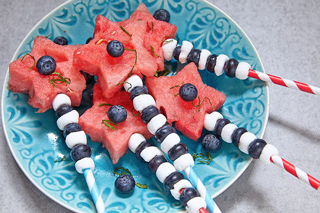 Aroniaberry Fruit Kabobs