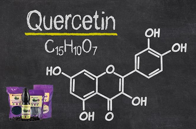 Superberries Aroniaberries Contain Quercetin
