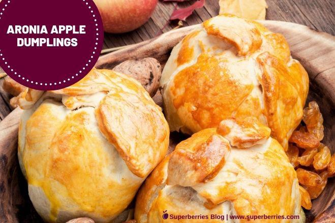 Aroniaberry Apple Dumplings