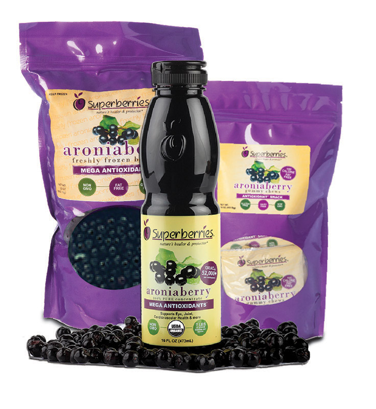 Superberries Aronia Berry Essentials Combo - 3 Aroniaberry Products