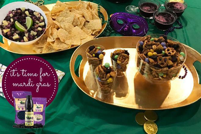 Superberries Mardi Gras Recipes