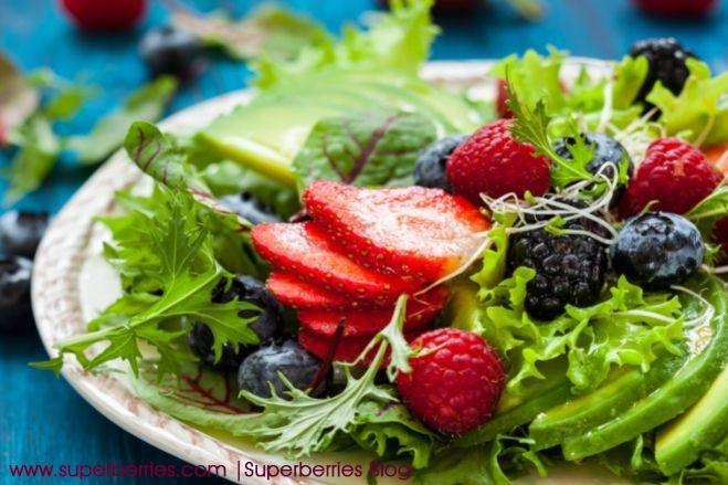 Superberries Salad Blog