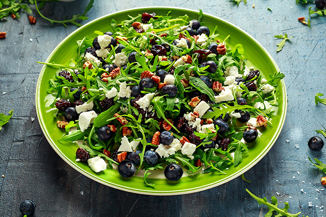Triple Berry Aronia Salad