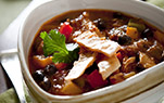 Aronia Black Bean Chili