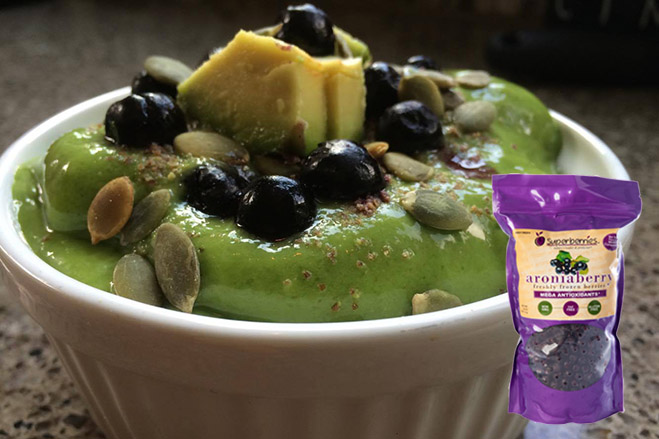 Aronia Avocado Bowl