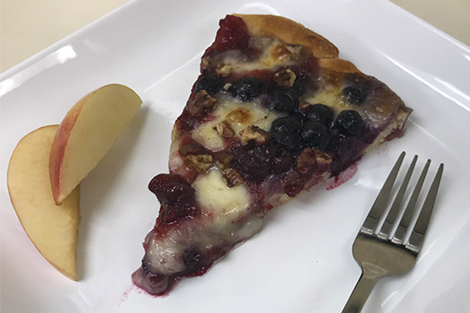 Aronia Cranberry Pizza