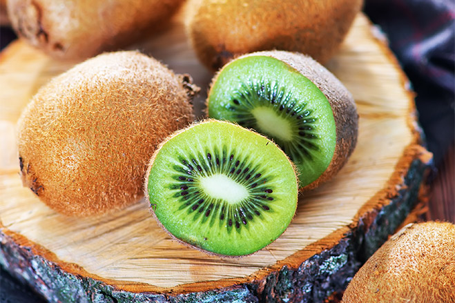 Kiwi Tastes Great in an Aroniaberry Smoothie