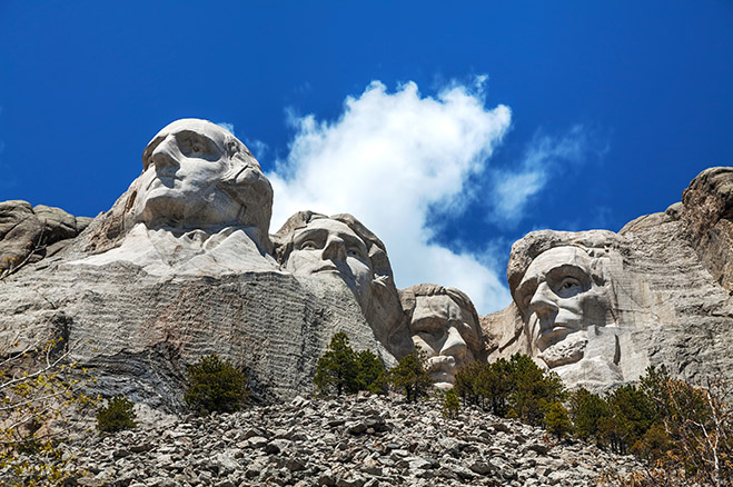 President's Day -- Mount Rushmore