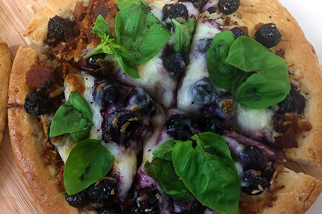Savory Aroniaberry Pizza