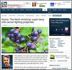 Superberries on Fox News