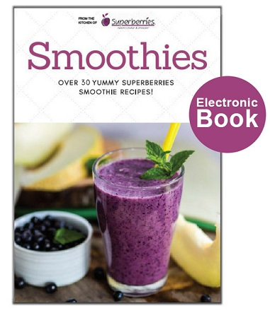 Aroniaberry Smoothie Recipe E-Book