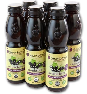 6 Pk Organic Aroniaberry Juice Concentrate